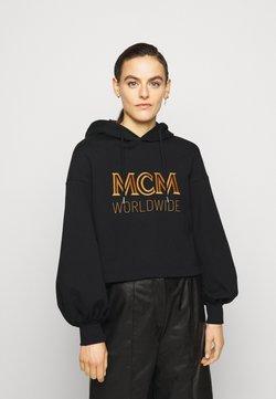 MCM - LOGO HOODIE - Hoodie - black
