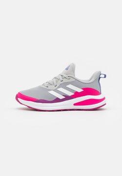 adidas Performance - FORTARUN RUNNING SHOES UNISEX - Juoksukenkä/neutraalit - grey two/footwear white/shock pink
