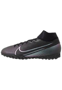 Nike Performance - MERCURIAL 7 ACADEMY TF - Fußballschuh Multinocken - black