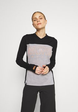 Mons Royale - PHOENIX ENDURO - Funktionsshirt - black/grey marl