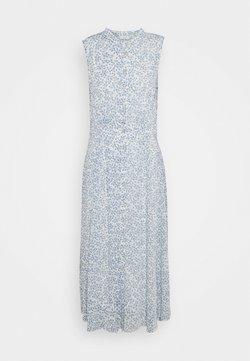 Nümph - BARACA DRESS - Vestido largo - wedgewood
