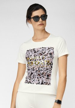 MADELEINE - T-Shirt print - creme/multicolor