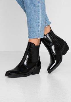 Rubi Shoes by Cotton On - TESSA SQUARE TO WESTERN BOOT - Botki kowbojki i motocyklowe - black