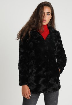 Vero Moda - VMCURL HIGH NECK JACKET NO - Abrigo corto - black