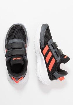 adidas Performance - TENSAUR RUN - Neutrala löparskor - core black/solar red/grey six