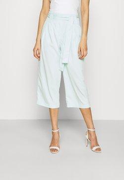 YAS - YASLEO CULOTTE PANT - Pantaloni - whispy blue