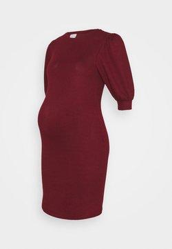 MAMALICIOUS - MLCABERNET DRESS - Jerseykjoler - cabernet