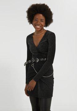 YOUNG POETS SOCIETY - YAMILA  - Cocktailkleid/festliches Kleid - black glitter