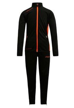 Uhlsport - ESSENTIAL CLASSIC SET - Träningsset - schwarz/fluo orange