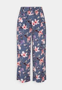 ONLY - ONLNOVA LUX CROP PALAZZO PANT - Pantaloni - vintage indigo