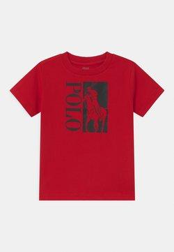 Polo Ralph Lauren - T-shirt med print - red