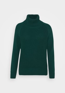 edc by Esprit - COWL NECK - Trui - dark teal green