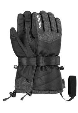 Reusch - BASEPLATE  - Fingerhandschuh - blck/blck melange/silver