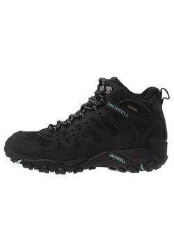 Merrell - ACCENTOR SPORT MID GTX - Hiking shoes - black/aquifer