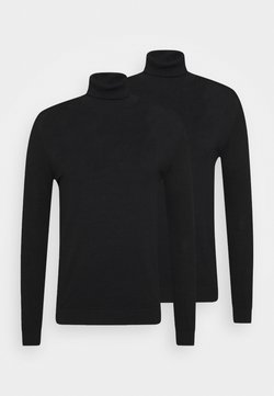 Topman - 2 PACK - Pullover - black