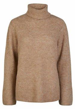 YAS - YASALLU - Sweter - tawny brown