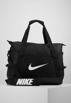 Nike Performance - TEAM DUFF  - Sports bag - black/white