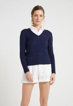 Polo Ralph Lauren - CLASSIC - Stickad tröja - hunter navy