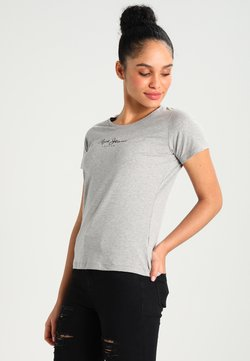 Pepe Jeans - NEW VIRGINIA - T-shirt imprimé - grey marl