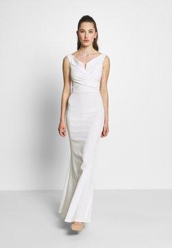 WAL G. - OFF THE SHOULDER DRESS - Ballkleid - white