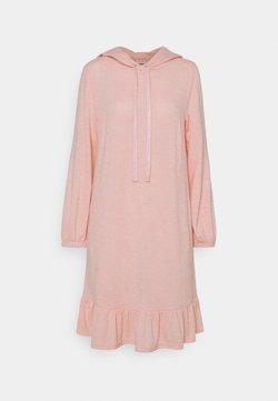 Freequent - FQLIVANA - Vestido de punto - silver/pink