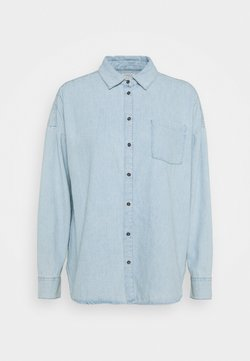 Lindex - SHIRT ROXY - Button-down blouse - denim blue