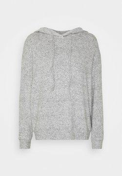 ONLY - ONLFANDY LOUNGE HOODIE - Pullover - light grey melange