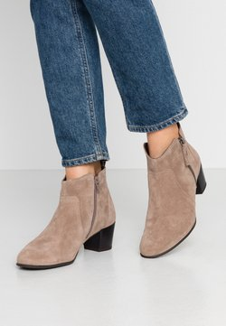 Anna Field Wide Fit - LEATHER BOOTIES - Ankelboots - taupe