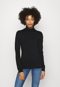 More & More - Strickpullover - black