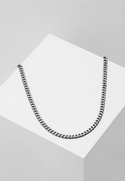Icon Brand - Necklace - gunmetal-coloured