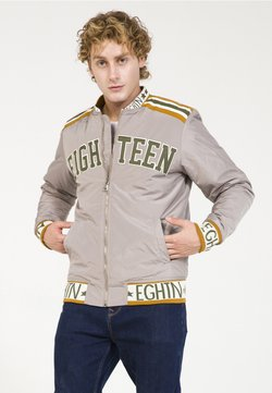 PLUS EIGHTEEN - Giubbotto Bomber - grey