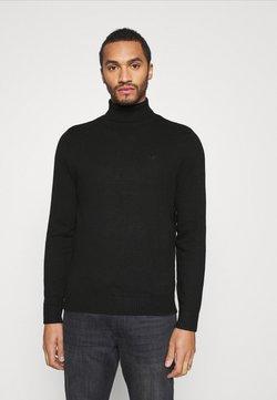 Hollister Co. - TURTLENECK - Sweter - black