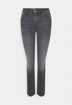 Marc O'Polo - ALBY STRAIGHT - Jeans Slim Fit - commercial black wash