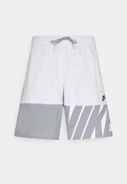 Nike Sportswear - Shorts - birch heather/particle grey/black