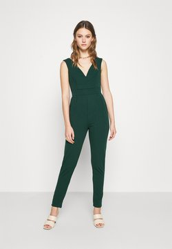 WAL G. - HEIDI LOW V NECK - Combinaison - forest green