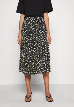 Moss Copenhagen - CALINA SKIRT - A-line skirt - blue