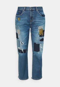 Lauren Ralph Lauren Woman - TAPER - Jeans Relaxed Fit - tinted sapphire wash