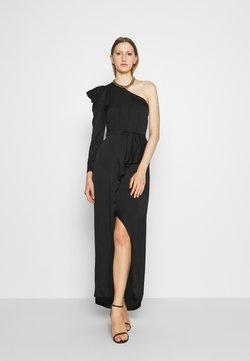 DESIGNERS REMIX - MEA ONE SHOULDER DRESS - Occasion wear - black