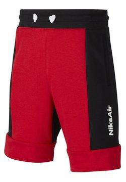 Nike Sportswear - RAGAZZO - Shorts - university red/black/university red/white