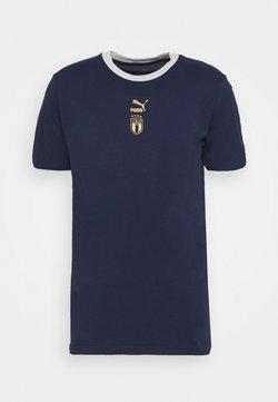 Puma - ITALIEN FIGC TEE - Nationalmannschaft - peacoat/team power blue