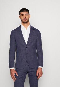 Tommy Hilfiger Tailored - FLEX MINI STRUCTURE SLIM  SUIT - Kostuum - blue