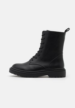 Rubi Shoes by Cotton On - FREDA LACE UP BOOT - Schnürstiefelette - black