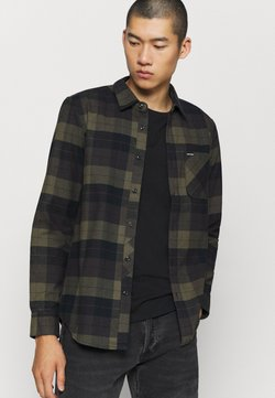 Volcom - CADEN PLAID - Hemd - army green