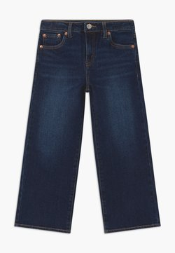 Levi's® - CROPPED WIDE LEG - Jeans Relaxed Fit - dark-blue denim