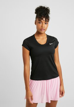 Nike Performance - DRY - T-Shirt basic - black/white