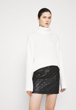 Monki - DONNIE  - Strickpullover - white solid