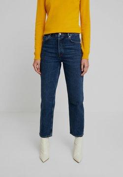 Selected Femme - SLFKATE INKY - Jeans straight leg - medium blue denim