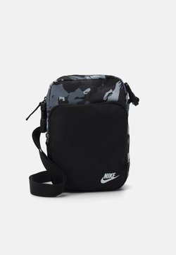 Nike Sportswear - HERITAGE UNISEX - Sac bandoulière - black/white