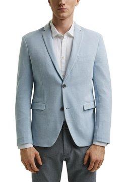 Esprit - MIT STRUKTUR - Sakko - grey blue