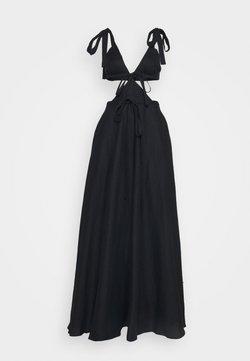 Christopher Kane - CUT OUT TIE DRESS - Robe de cocktail - black